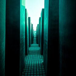 Berlin - Holocaust - Denkmal - Arch. Peter Eisenman © Gerald Langer